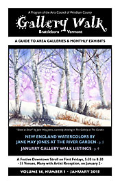 January '15 Gallery Walk Cover