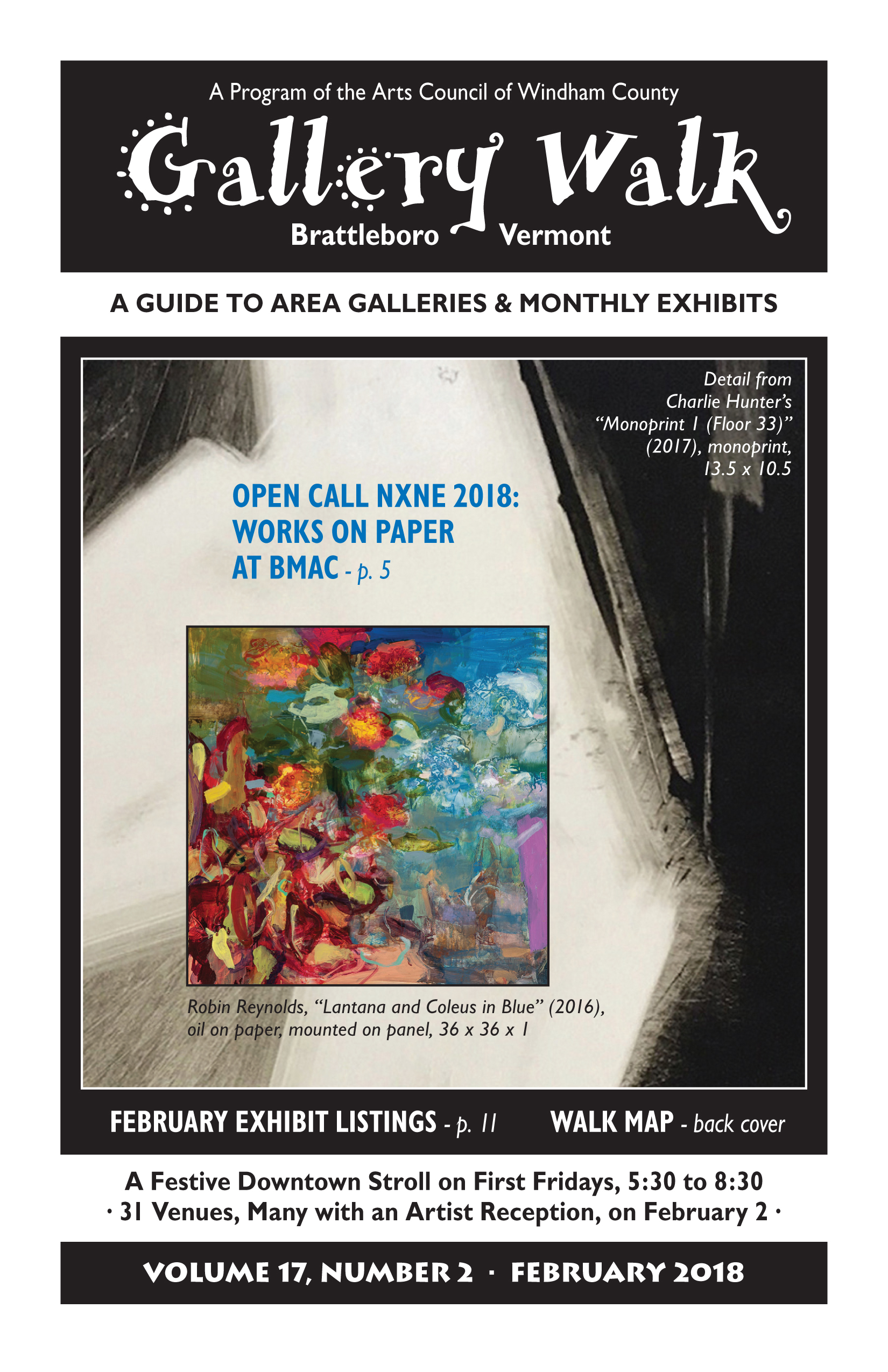 February '18 Gallery Walk Cover