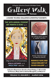 March '16 Gallery Walk Cover