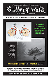 March '17 Gallery Walk Cover