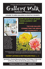 June '14 Gallery Walk Cover