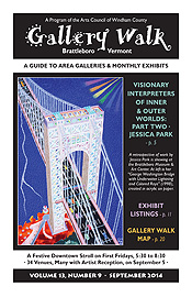 September '14 Gallery Walk Cover