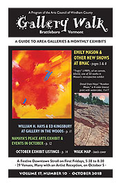 October '18 Gallery Walk Cover