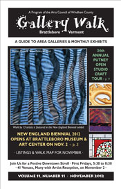 November '12 Gallery Walk Cover