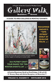 November '14 Gallery Walk Cover