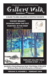 February '14 Gallery Walk Cover