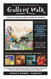 March '13 Gallery Walk Cover