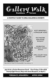 April '04 Gallery Walk Cover
