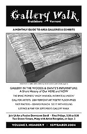 September '04 Gallery Walk Cover