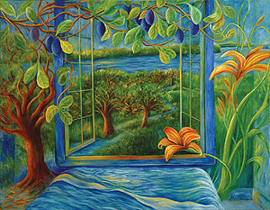 My River Window by Mollie S. Burke