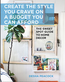 Desha Peacock's home decor book cover