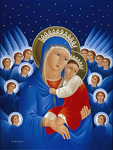 Philipos' Blue Madonna
