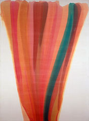 Painting by Morris Louis