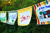 Handmade Prayer Flags
