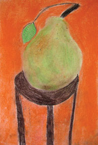 Pear by RGS student