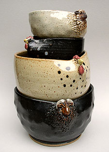 Bowls by Claudia Teachman