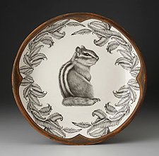 Zindel platter with chipmunk